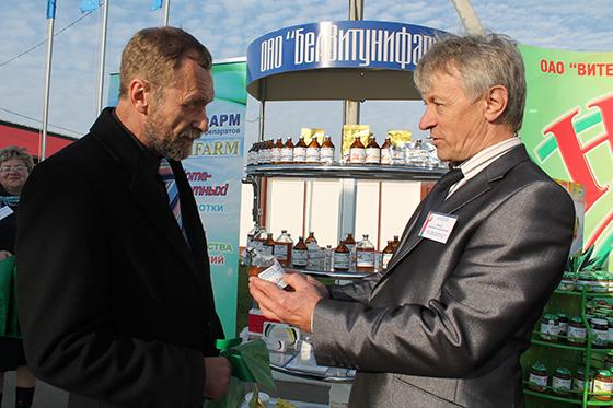 продукция ОАО «Белвитунифарм» станет темой отдельной публикации Сергея Забелина (слева).