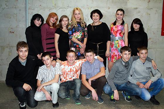 О. Солдатенкова со своей группой