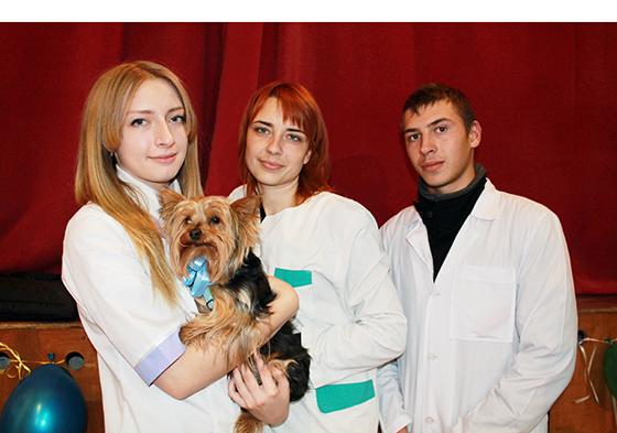 будущие ветеринары