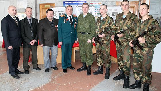 Андрей муравьев, воины-интеранционалисты и представители 103-й отдельной мобильной бригады