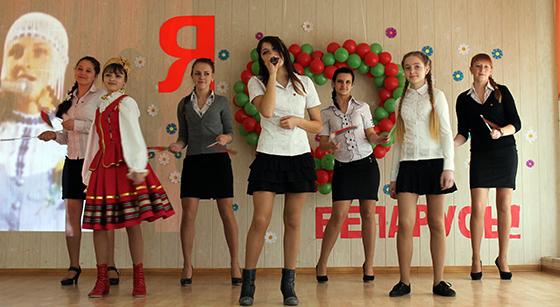 Музыкальное поздравление от учащихся Вороновской школы