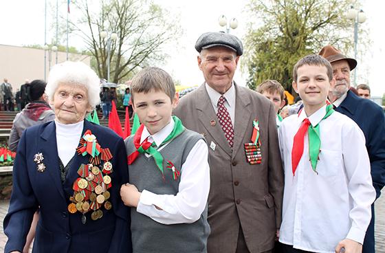 Эпицентром торжеств, посвященных 70-летию Великой Победы, в Витебском районе стал агрогородок Новка
