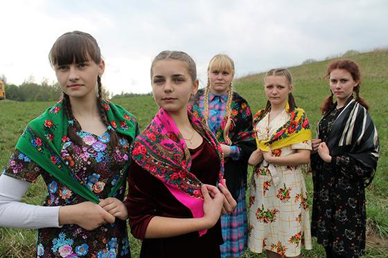 учащиеся Суйковской средней школы