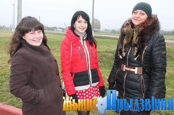 На снимке: А. Маковская, М. Позняк и И. Чумакова