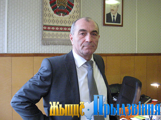 На снимке: А. Яхияев