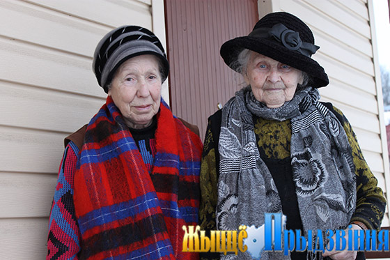 На снимке: М. Белковская и В. Волхонская