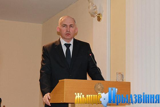 На снимке: Геннадий Сабынич