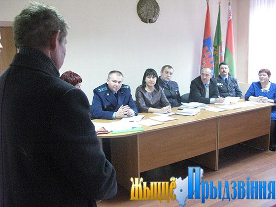 На снимке: в рамках семинара-совещания прошло заседание Новкинского совета ОПОП