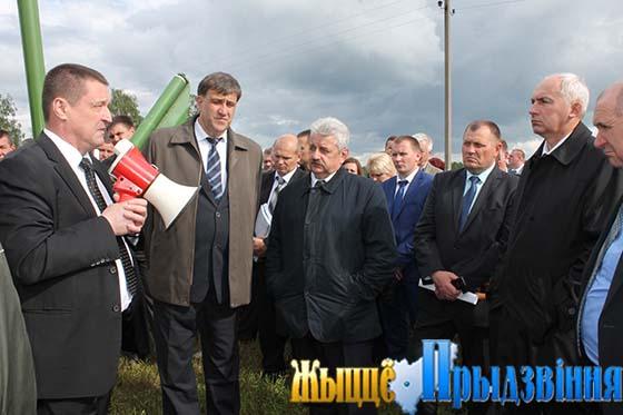 Выездное заседание облсельхозпрода прошло на базе Витебского района