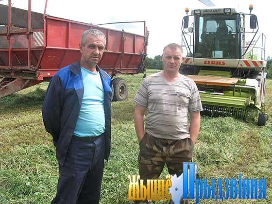 На снимке: С. Московченко (справа) и М. Ахремчик