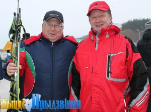 На снимке: Владимир Терентьев и Виктор Мирош