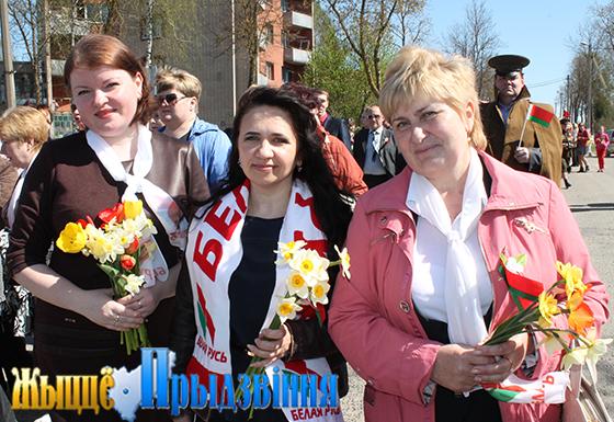 Организация РОО «Белая Русь» в Витебском районе объединяет около 850 человек