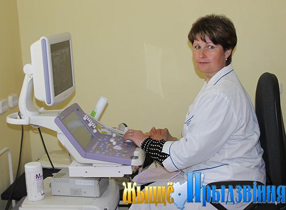 На снимке: врач ультразвуковой диагностики Татьяна Карпушенко