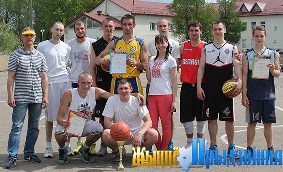 В Витебском районе выявлена сильнейшая дружина в соревнованиях по стритболу