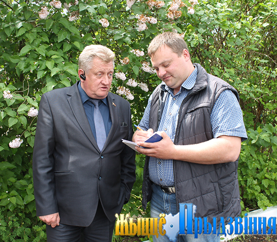 В Витебском районе услуги сельчанам оказывает госпредприятие «Вороны-сервис»