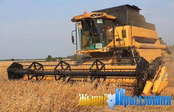 Лидеры на уборке урожая в Витебском районе на 7 августа