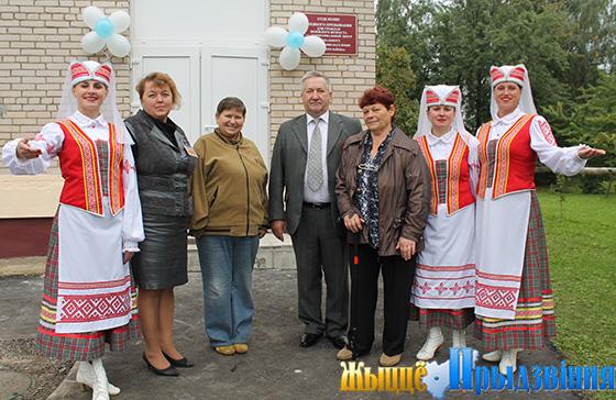 В г. п. Яновичи Витебского района открылось отделение дневного пребывания для граждан пожилого возраста