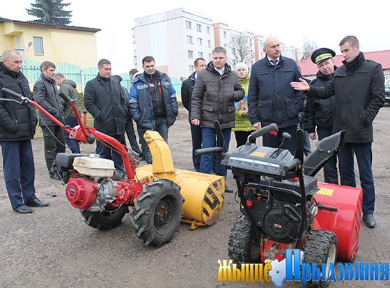 На семинаре в Витебском районе рассмотрены вопросы содержания улично-дорожной сети в зимний период
