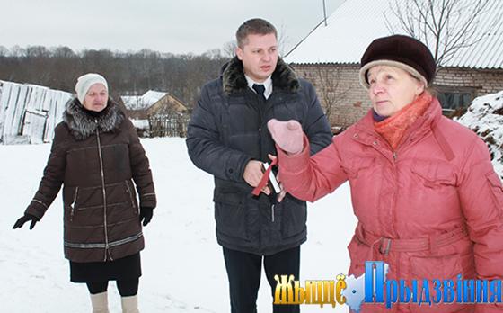 Вопросы жизнеобеспечения населения аг. Зароново Витебского района обсуждены в рамках выезда ИПГ