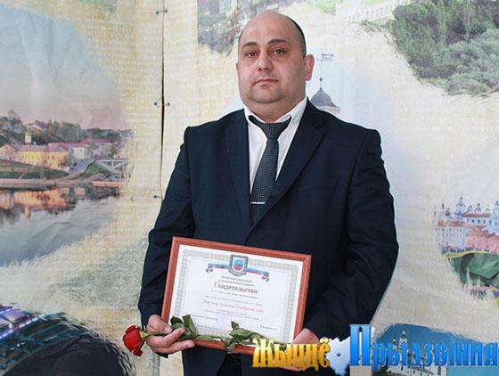 Директор общества с ограниченной ответственностью «МЭДО» Эльман Мирзоев занесен на районную Доску почета