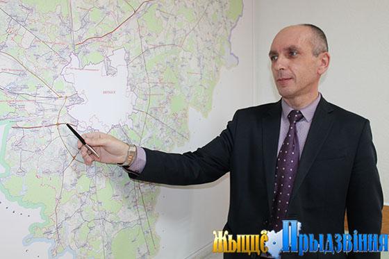 На снимке: начальник структурного подразделения Сергей Дмитриев