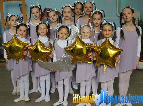 На снимке: юные танцоры из «Задоринки»