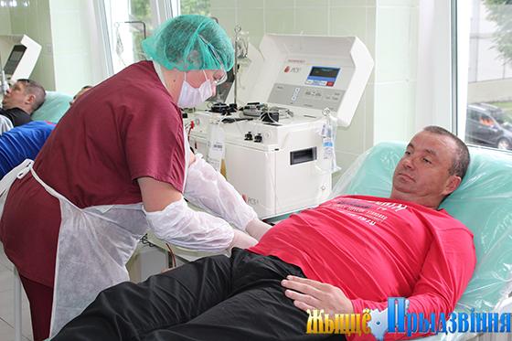 Витебская область в лидерах по количеству безвозмездных донаций крови и ее компонентов