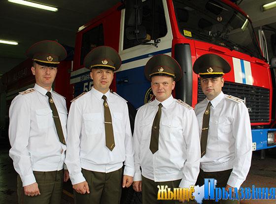 На снимке: Иван Железовский (второй справа) и его заместители: Сергей Ловейкин, Александр Пилипенко и Дмитрий Демченко