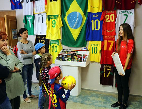 Выставка «Футбол — игра миллионов» приглашает в Витебский районный историко-краеведческий музей
