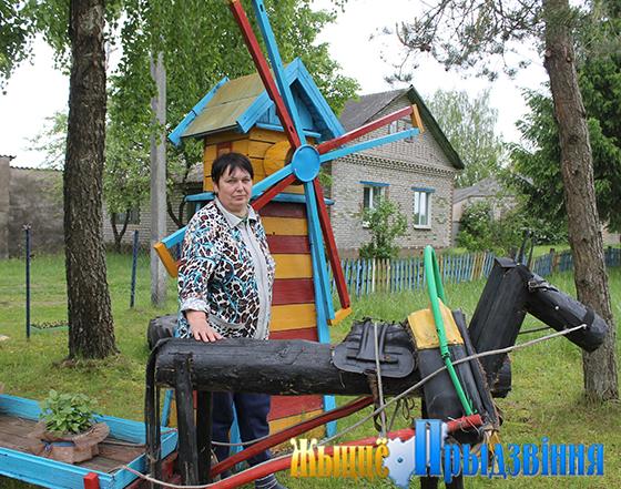 Агрогородок Шапурово Суражского сельсовета Витебского района славится рачительными и мастеровыми жителями