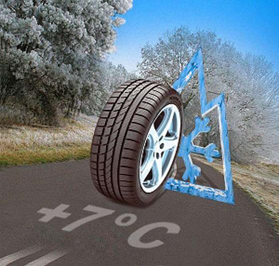 С 1 декабря ГАИ будет штрафовать водителей за летнюю резину