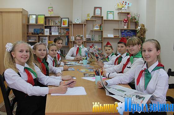 Заинтересованный диалог поколений, приуроченный к юбилею образования БССР, состоялся на базе Октябрьской СШ Витебского района