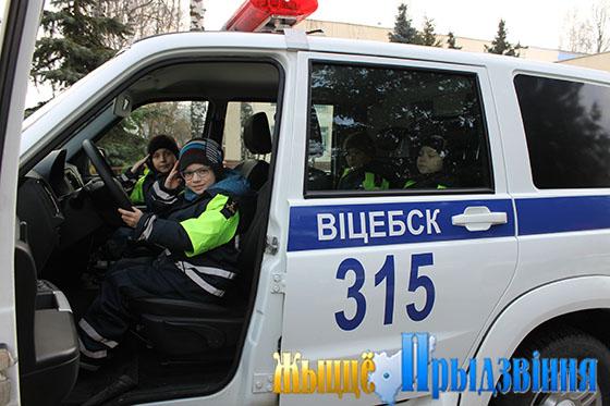 С 3 декабря в Витебском районе стартовала акция «Безопасная дорога в школу»