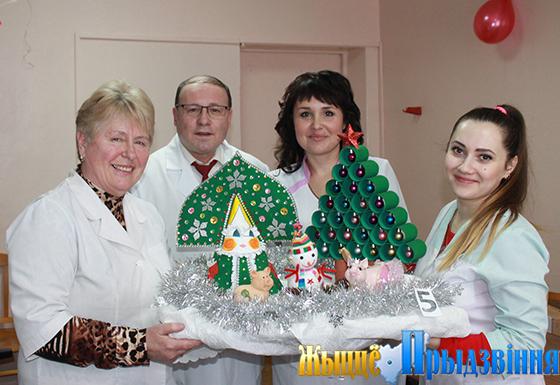 В Витебской городской поликлинике № 7 подвели итоги конкурса творчества и мастерства «Снегурочка-2019»
