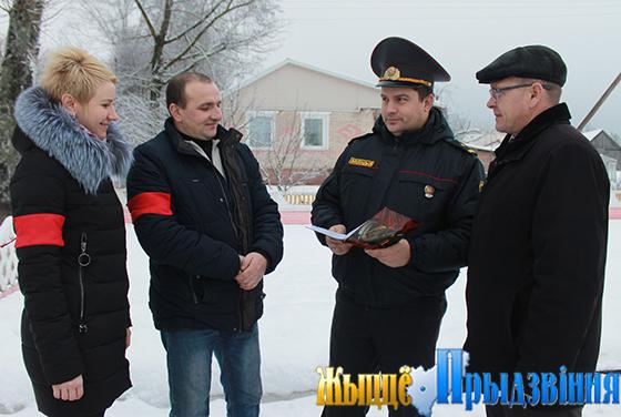 195 неравнодушных граждан в Витебском районе являются членами добровольных дружин