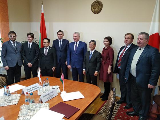 ТЦСОН Витебского района выделены средства на приобретение спецтранспорта по программе правительства Японии