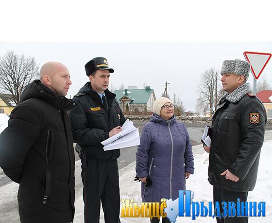Сотрудники ОВД Витебского райисполкома отмечают День милиции