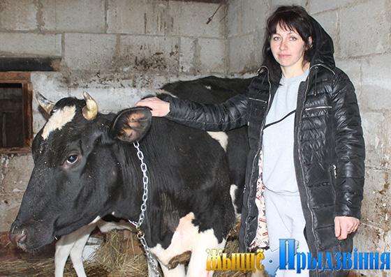 На снимке: Юлия Кулеш со своей Жданкой