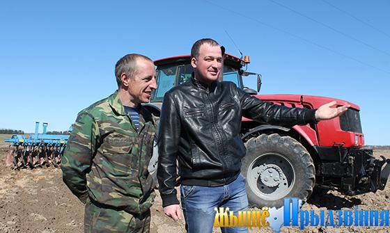 В Витебском районе стартовали весенние полевые работы