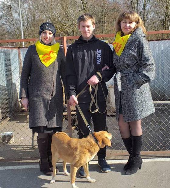 Волонтеры Аграрного колледжа приняли участие в благотворительной акции в помощь Витебскому приюту для бездомных животных