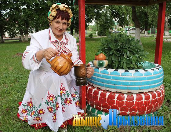 На снимке: Галина Хачапуридзе