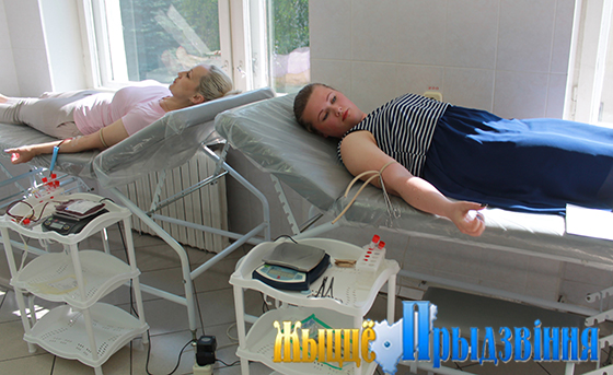 На снимке: Витебская областная станция переливания крови
