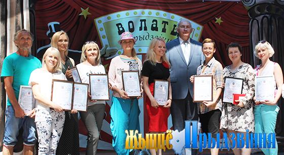 В Витебском районе прошел фестиваль «Волаты Прыдзвiння»