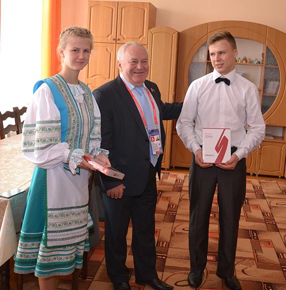 Детский социальный приют в Витебском районе посетили представители Парламентского Собрания