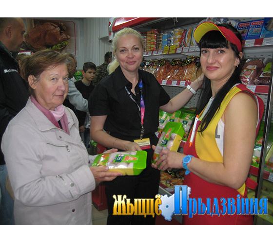 Фирменный магазин «Ганна» открылся в аг. Бабиничи Витебского района