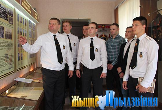 Коллектив Витебского РОВД принял в свои ряды молодых сотрудников