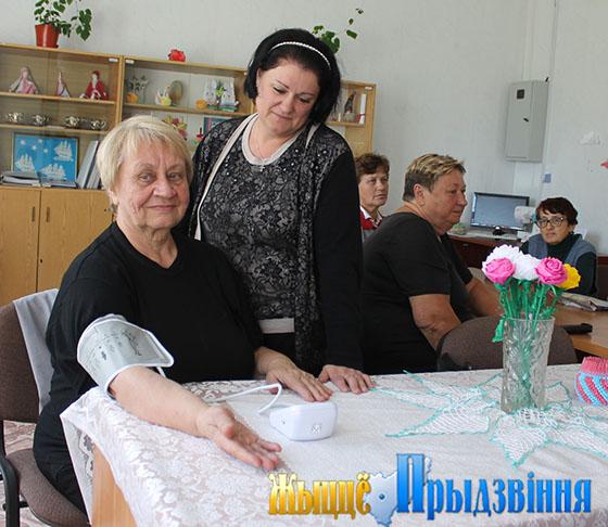 Территориальный центр социального обслуживания населения Витебского района реализует новый социальный проект