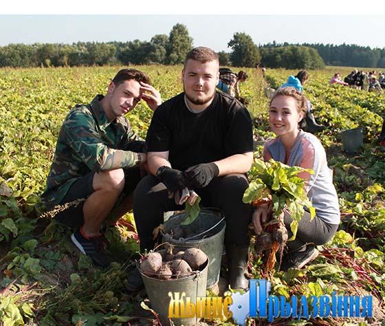 На снимке: Георгий Шестак, Сергей Масков и Виктория Шарупич