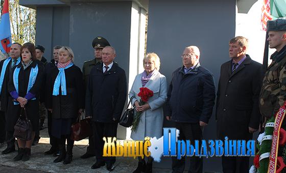 В аг. Зароново состоялась траурная церемония перезахоронения 144 воинов, погибших в годы войны