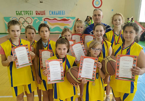 Завершилось первенство Витебского района среди школ по мини-баскетболу